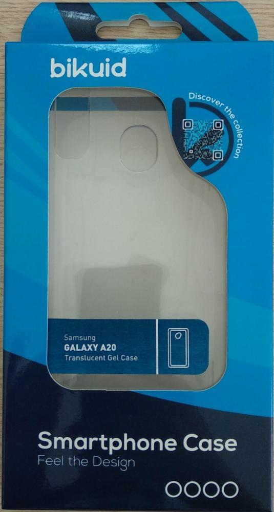 Bikuid Funda Gel Case Transparente Samsung A20e