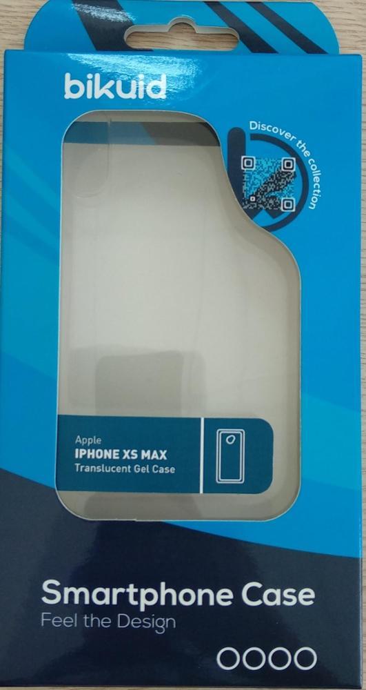 Bikuid Funda Gel Case Transparente iPhone XS MAX