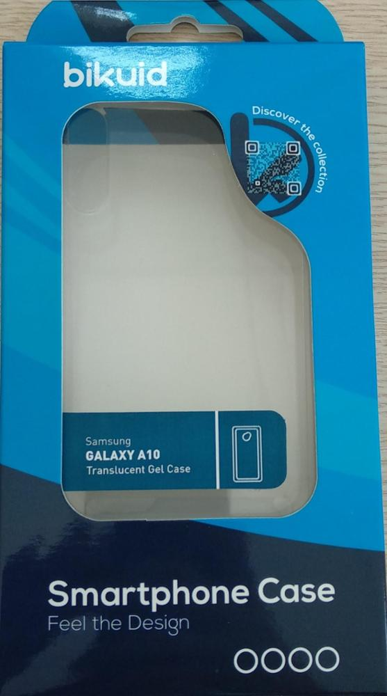 Bikuid Funda Gel Case Transparente Samsung A10