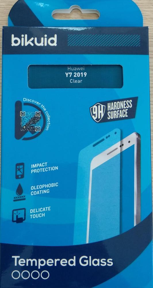 Bikuid Protector Pantalla cristal Templado Huawei Y7 2019