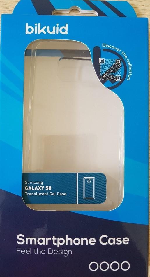 Bikuid Funda Gel Case Transparente Samsung S8