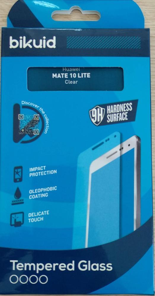 Bikuid Protector Pantalla cristal Templado Huawei Mate 10 Lite