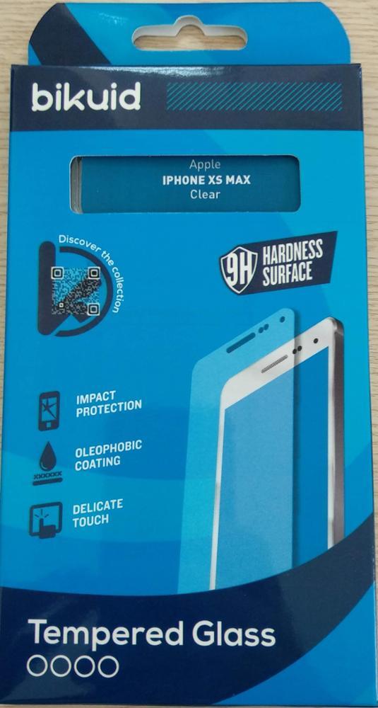 Bikuid Protector Pantalla cristal Templado iPhone XS MAX