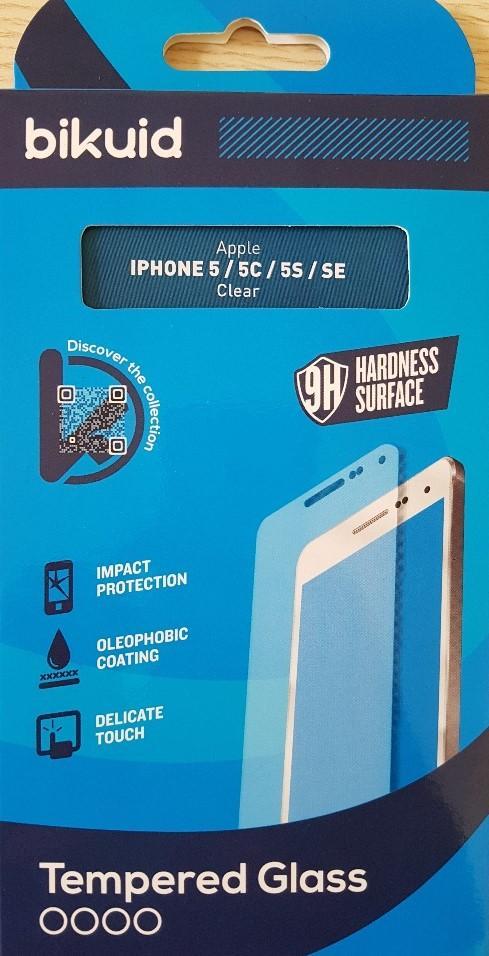 Bikuid Protector Pantalla cristal Templado Apple iPhone SE