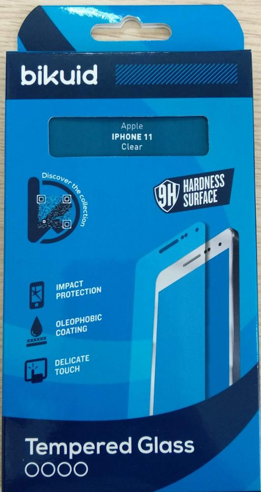 Bikuid Protector Pantalla cristal Templado iPhone 11