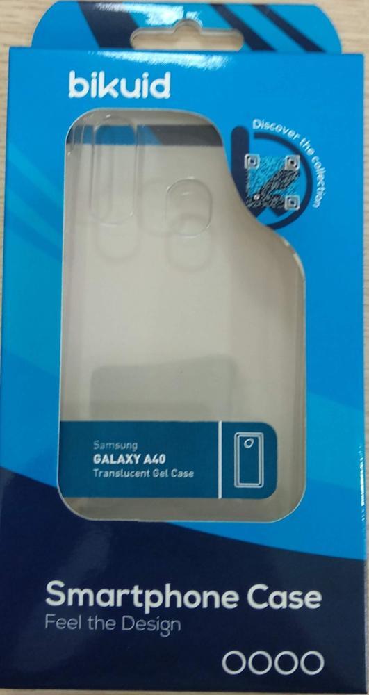 Bikuid Funda Gel Case Transparente Samsung A40