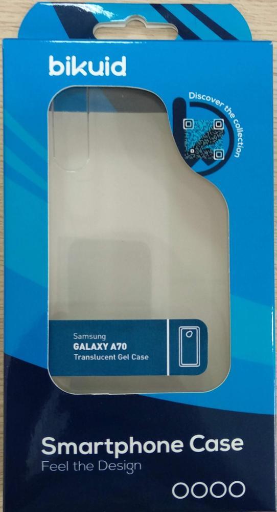 Bikuid Funda Gel Case Transparente Samsung A70
