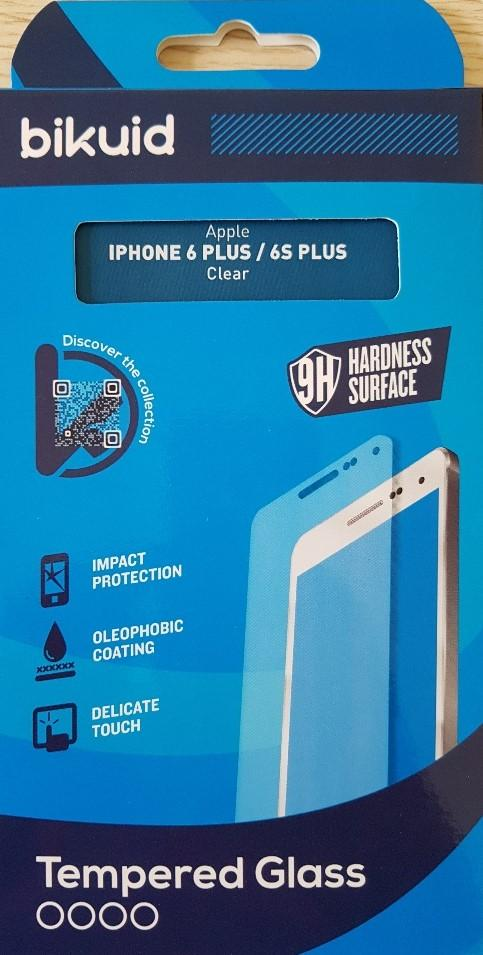 Bikuid Protector Pantalla cristal Templado Apple iPhone 6 Plus / 6S Plus