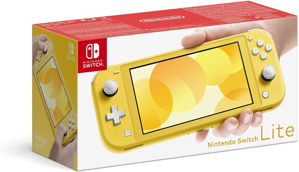 NINTENDO CONSOLA SWITCH LITE - AMARILLO