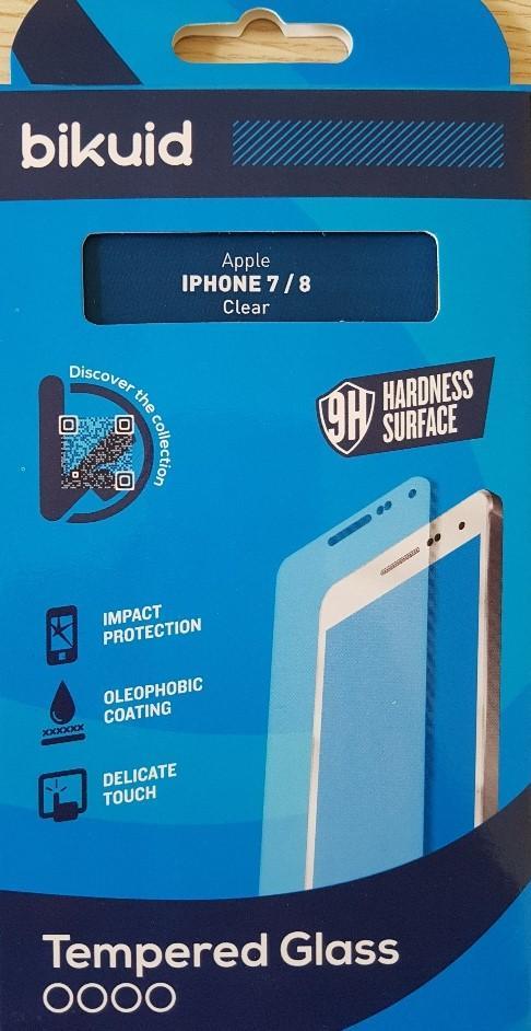 Bikuid Protector Pantalla cristal Templado Apple iPhone 7/8
