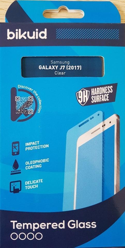 Bikuid Protector Pantalla cristal Templado Samsung J7 (2017)
