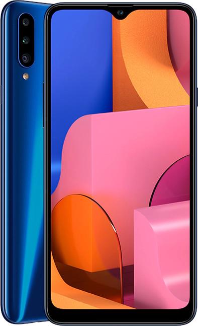 SAMSUNG Smartphone A20S A207FD 32GB - AZUL