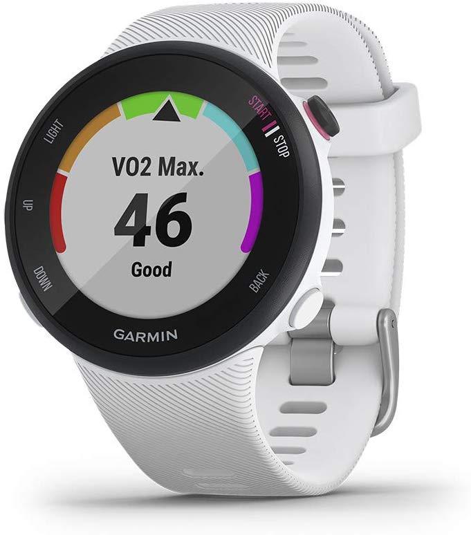 GARMIN Smartwatch FORERUNNER 45S - Blanco