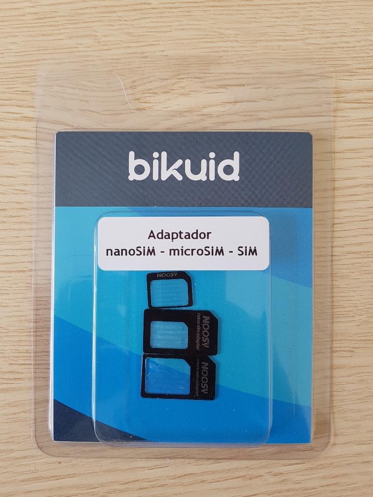 Bikuid Adaptador Nano sim - Micro sim - Sim