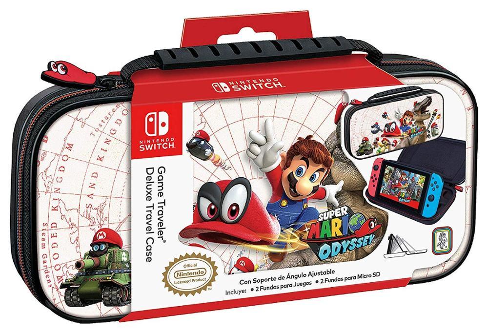 ARDISTEL Game Traveler Deluxe Travel Case - Funda Switch - Mario Odyssey NNS57