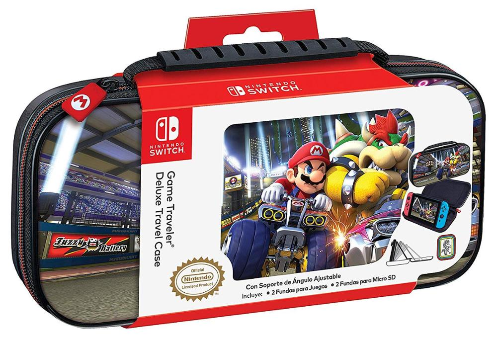 ARDISTEL Game Traveler Deluxe Travel Case - Funda Switch - Mario Kart NNS50B