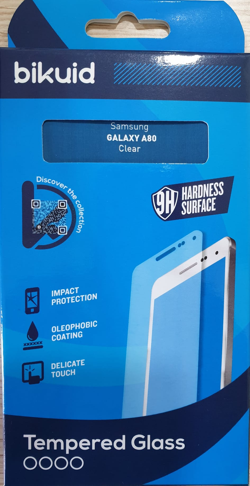 Bikuid Protector Pantalla cristal Templado Samsung A80