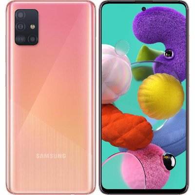 SAMSUNG Smartphone A51 A515 DS 6/128GB - ROSA