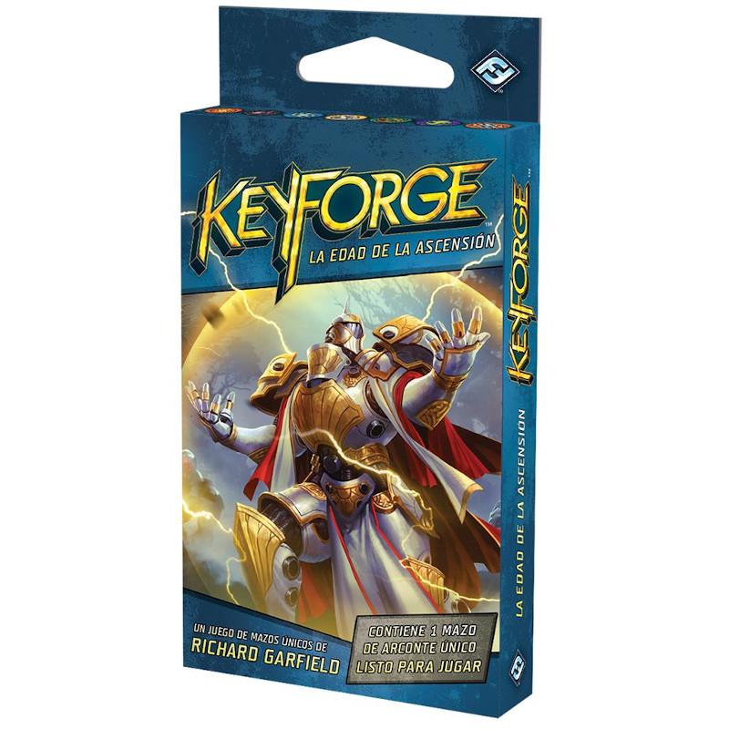 Keyforge la Edad de la Ascension Mazo Único