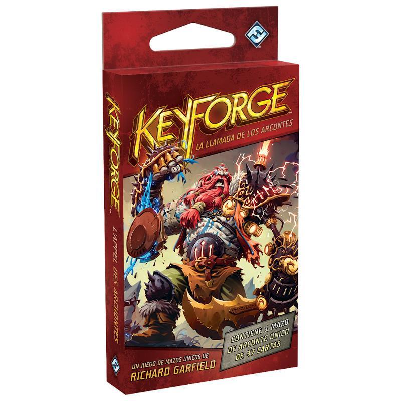 Keyforge la Llamade los Arcontes Mazo Único