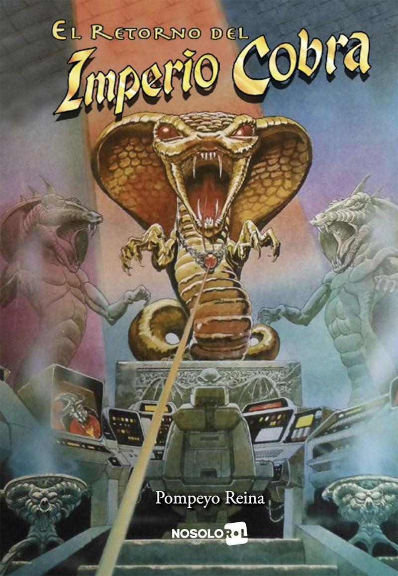 El Retorno del Imperio Cobra (Librojuego)