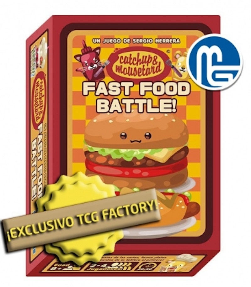 Catchup & Mousetard Fast Food Battle