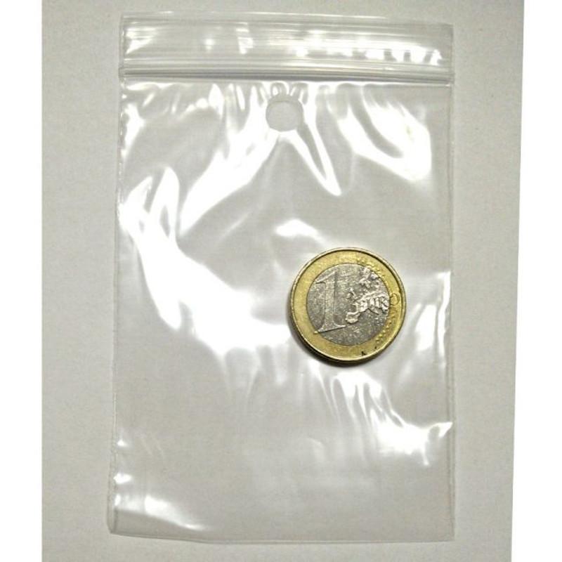 Bolsa Zip 6,8 x 10,5 cm