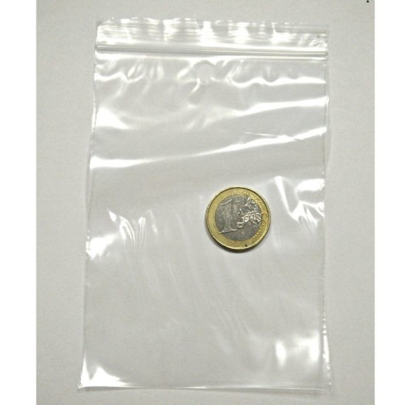 Bolsa Zip 8,5 x 13,3 cm