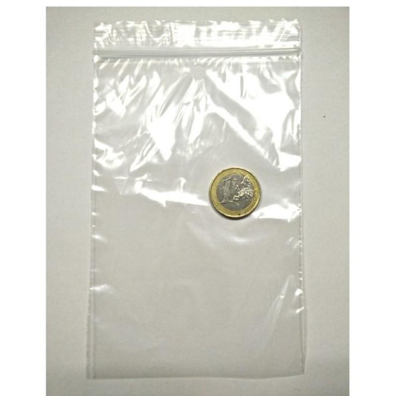 Bolsa Zip 9,5 x 16 cm