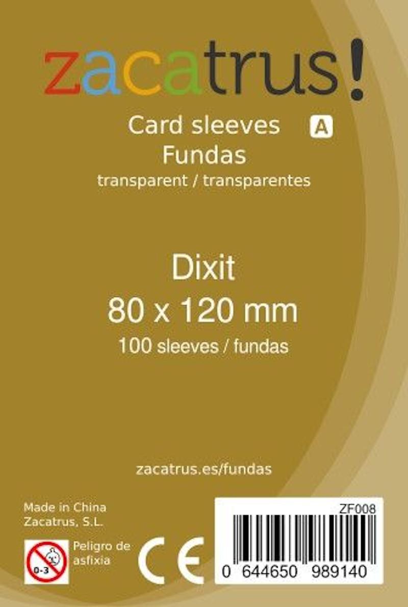 Fundas Zacatrus Dixit (80 mm X 120 mm) (100 uds)