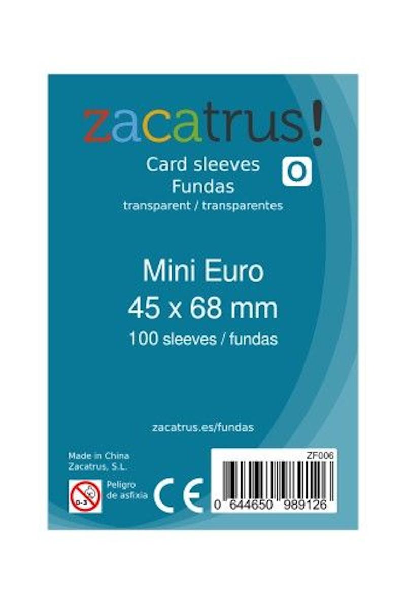 Fundas Zacatrus Mini Euro (45 x 68 mm) (100 uds)