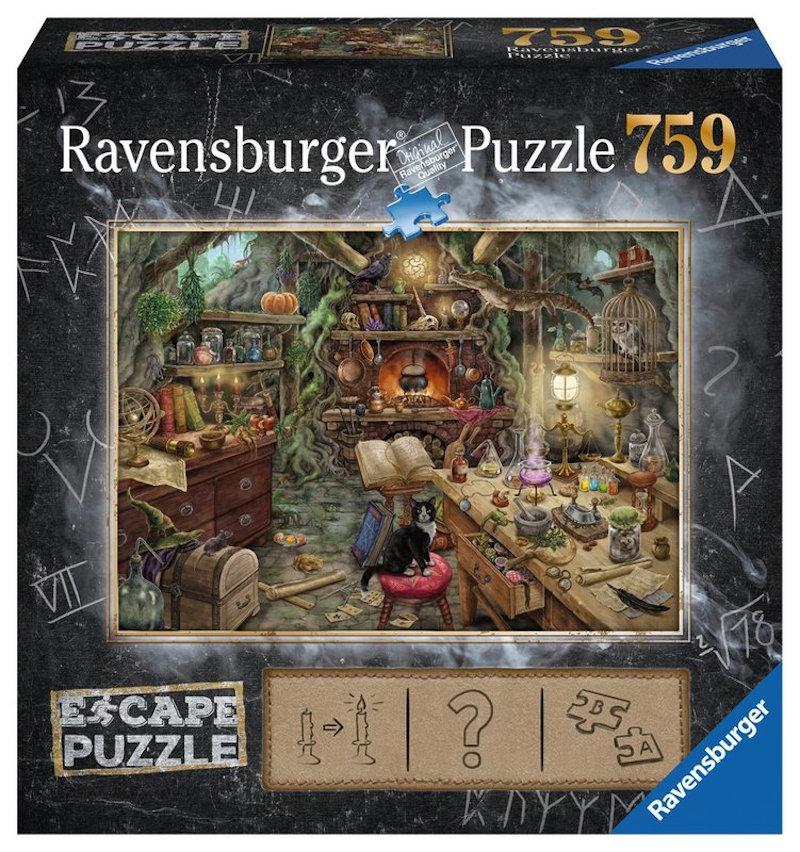 Escape Puzzle: La Cocina de la Bruja