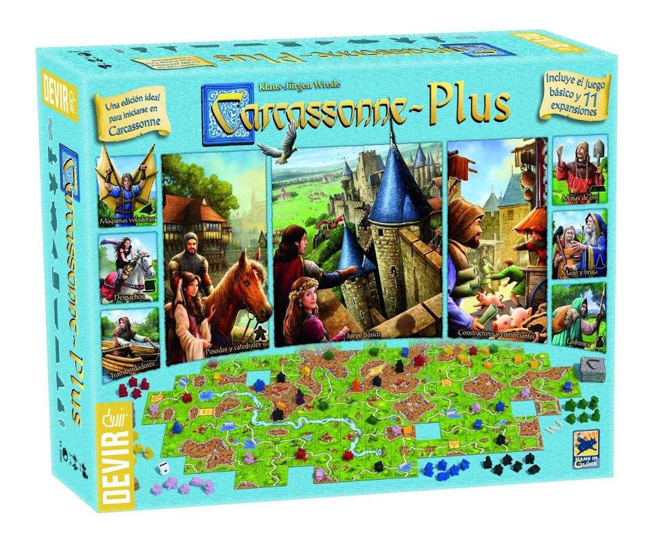 Carcassonne Plus 2017