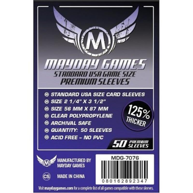 Fundas Mayday USA Premium (50 Uds) 56 MM X 87 MM