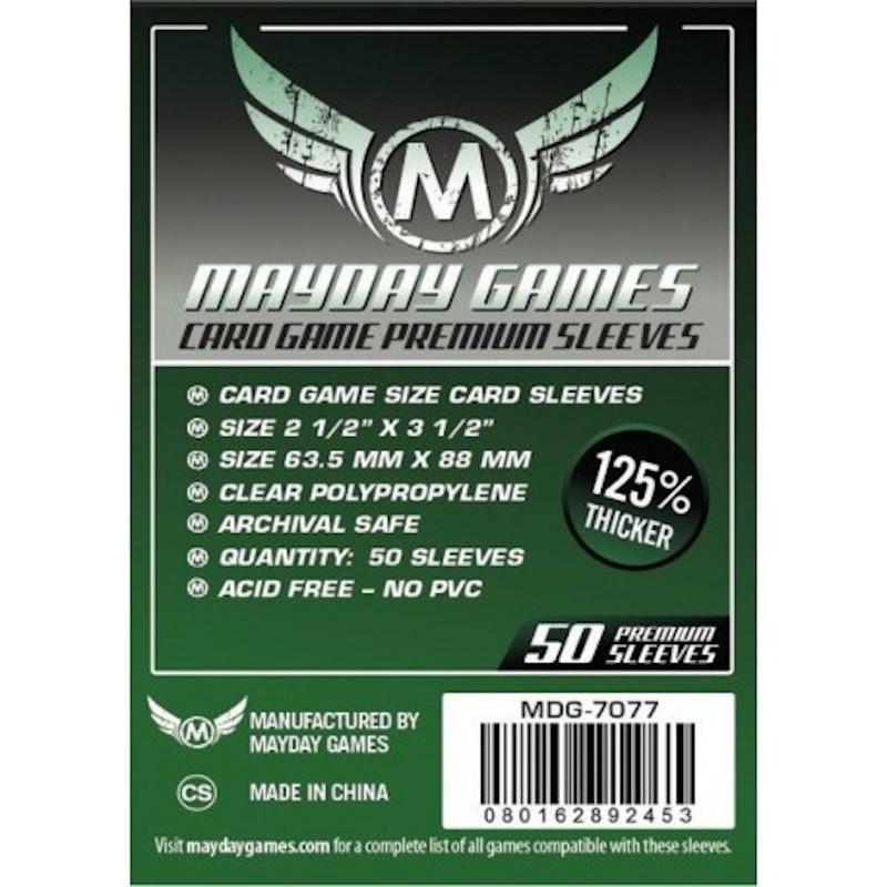 Fundas Mayday Standard Premium (50 Uds) 63.5 MM X 88 MM