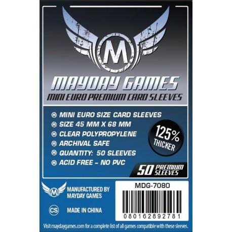 Fundas Mayday Mini Euro Premium (50 Uds) 45 MM X 68 MM