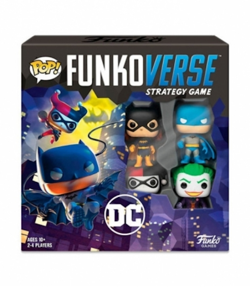 Funkoverse DC Comics Juego de Estrategia