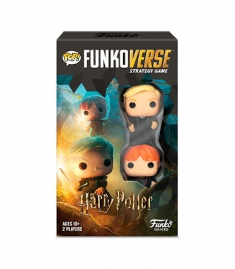 Funkoverse Harry Potter Juego Estrategia Pack 2 Figuras