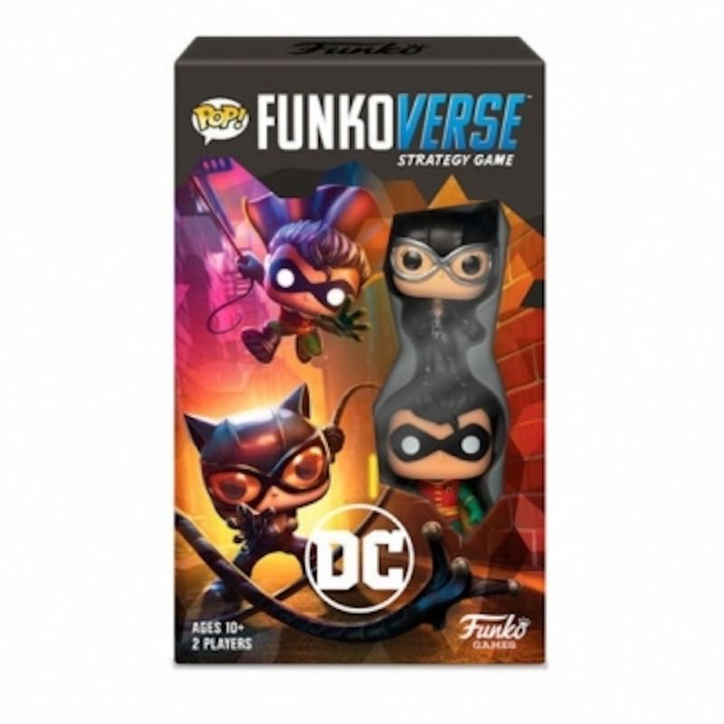 Funkoverse DC Comics Juego Estrategia Pack 2 Figuras