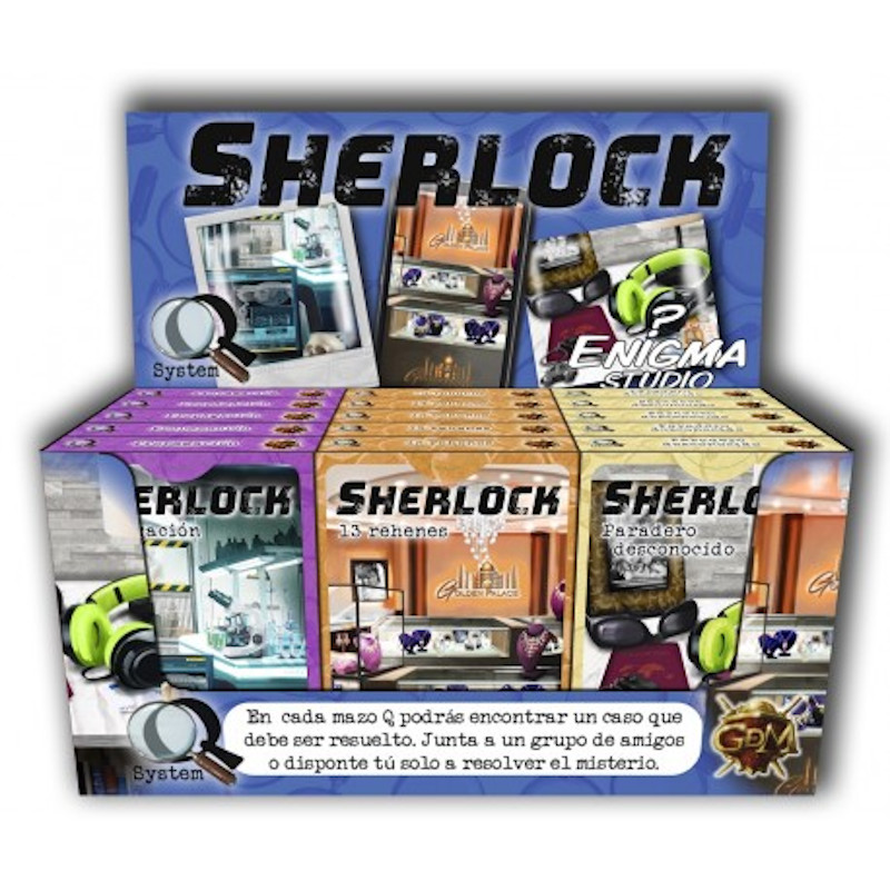 Serie Q - Sherlock Paradero Desconocido