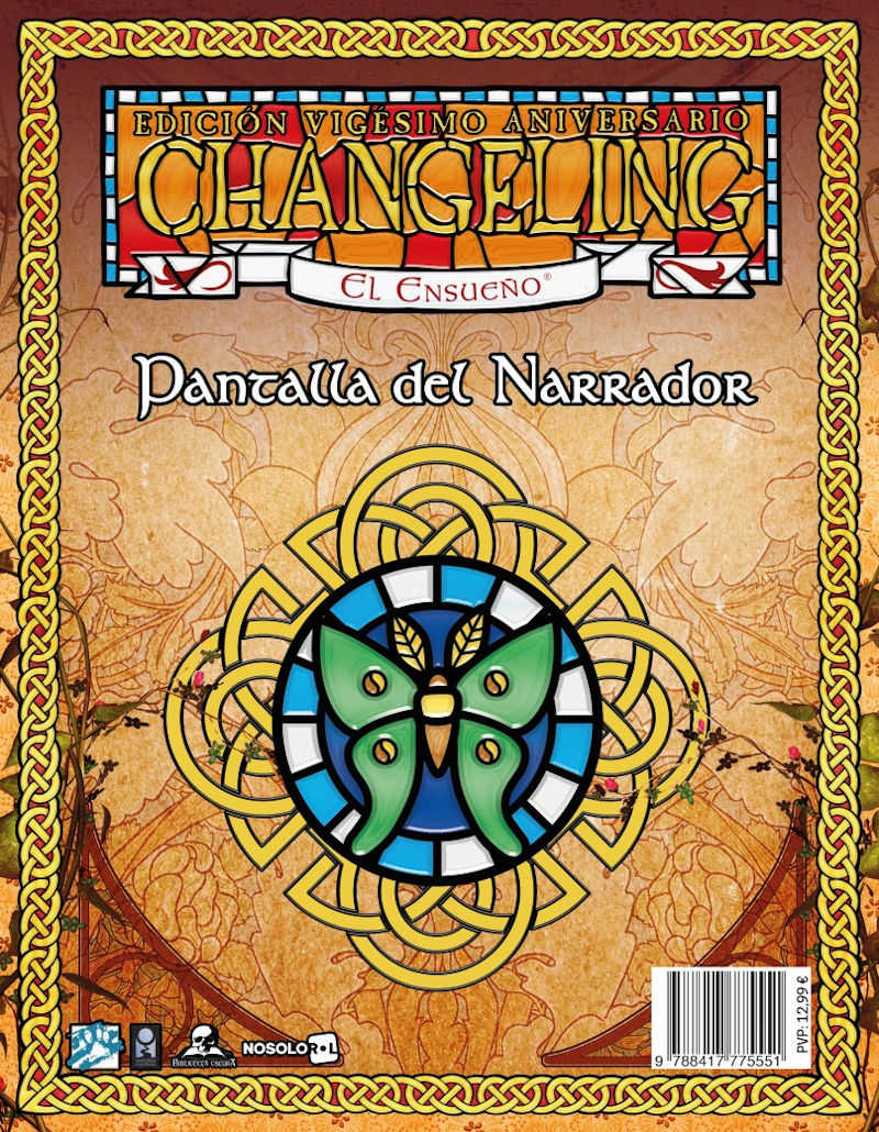 Changeling 20A: Pantalla del Narrador