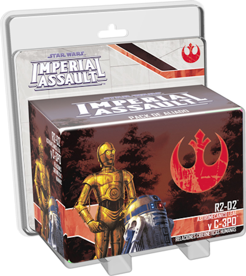 Star Wars Imperial Assault R2D2 y C3PO