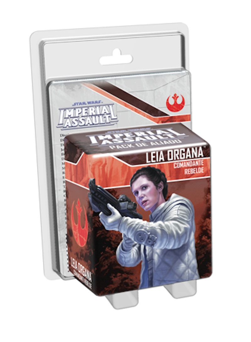 Star Wars Imperial Assault Princesa Leia Comandante rebelde