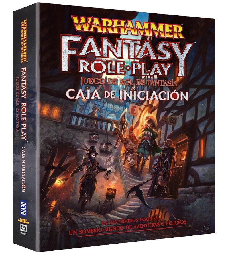 Warhammer RPG Caja de Iniciación