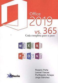 ALTARIA OFFICE 2019 VS. 365 GUÍA COMPLETA PASO A PASO