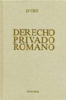 EUNSA DERECHO PRIVADO ROMANO 10ED