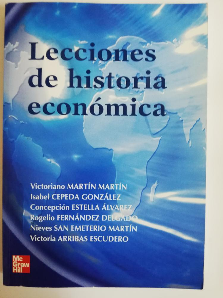 McGRAW HILL LECCIONES DE HISTORIA ECONÓMICA