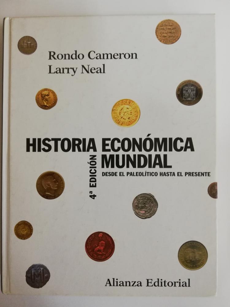 ALIANZA EDITORIAL HISTORIA ECONÓMICA MUNDIAL
