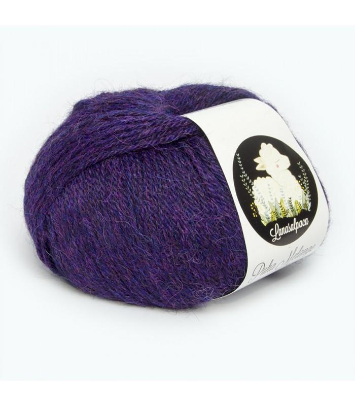 Lanas Alpaca Puha Violeta Melange 4050