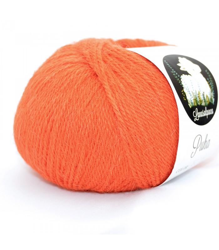 Lanas Alpaca Puha Naranja 5070